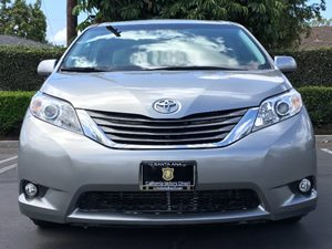 2014 Toyota Sienna XLE Body-Colored Power Heated Side Mirrors WManual Folding Convenience  Back