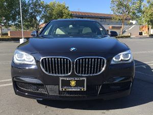 2015 BMW 7 Series 750i Carfax 1-Owner - No AccidentsDamage Reported Convenience  Back-Up Camera