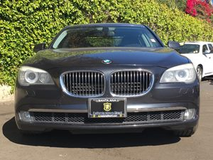 2011 BMW 7 Series 750Li Carfax 1-Owner Audio  Premium Sound System Convenience  Automatic Head