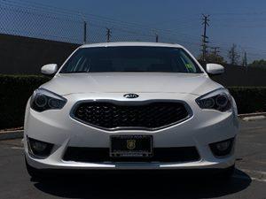 2015 Kia Cadenza Premium Carfax 1-Owner - No AccidentsDamage Reported  Snow White Pearl See o