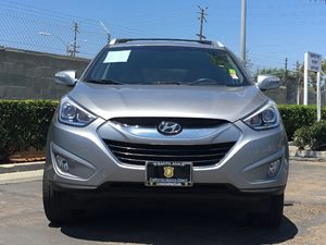 2014 Hyundai Tucson Limited Carfax 1-Owner - No AccidentsDamage Reported  Graphite Gray See o