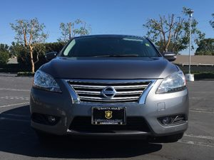 2015 Nissan Sentra SL Carfax 1-Owner - No AccidentsDamage Reported  Amethyst Gray See ourenti