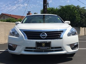 2014 Nissan Altima 25 S  Pearl White See ourentire inventory at wwwOCMOTORSDIRECT1com or CAL