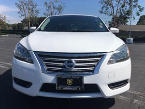 2014 Nissan Sentra S Carfax 1-Owner Air Conditioning AC Audio Auxiliary Audio Input Chrome S