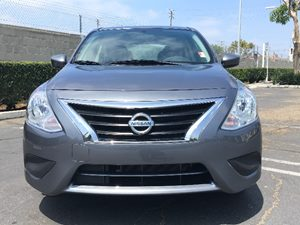 2016 Nissan Versa 16 SV 60-40 Folding Bench Front Facing Fold Forward Seatback Rear Seat Air Con