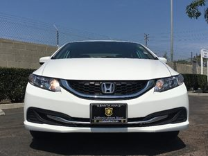 2014 Honda Civic Sedan LX Carfax 1-Owner Air Conditioning AC Compact Spare Tire Mounted Inside