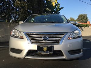 2014 Nissan Sentra SV Audio Auxiliary Audio Input Body-Colored Rear Bumper Cargo Space Lights