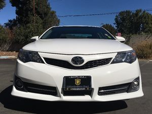 2014 Toyota Camry SE  Super White See ourentire inventory at wwwOCMOTORSDIRECT1com or CALL TO