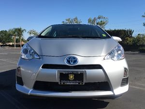 2014 Toyota Prius c One Carfax 1-Owner  Classic Silver Metallic  We are not responsible for ty