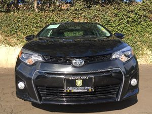 2014 Toyota Corolla S Carfax 1-Owner - No AccidentsDamage Reported  Black Sand Mica  We are n