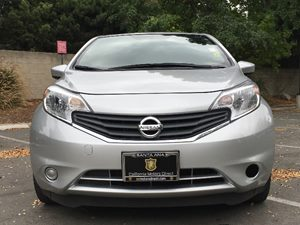 2015 Nissan Versa Note SV Carfax 1-Owner - No AccidentsDamage Reported  Brilliant Silver Metal