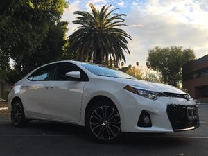 2015 Toyota Corolla S Plus  Super White All advertised prices exclude government fees and taxes