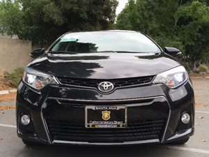 2015 Toyota Corolla S Plus Carfax 1-Owner - No AccidentsDamage Reported  Black Sand Mica  We