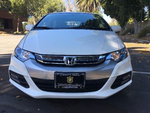 2014 Honda Insight Base Carfax 1-Owner - No AccidentsDamage Reported  Taffeta White  We are n