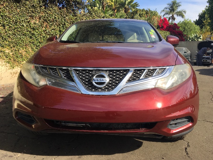2011 Nissan Murano SL  Burgundy All advertised prices exclude government fees and taxes any fi
