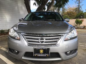 2014 Nissan Sentra SL Carfax 1-Owner - No AccidentsDamage Reported  Gray  We are not responsi
