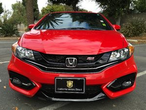 2015 Honda Civic Coupe Si Carfax 1-Owner  Rallye Red  We are not responsible for typographical