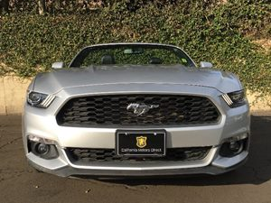 2016 Ford Mustang EcoBoost Premium Carfax 1-Owner - No AccidentsDamage Reported  Ingot Silver