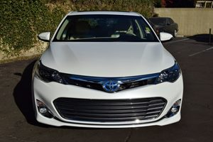 2015 Toyota Avalon Hybrid XLE Premium Carfax 1-Owner  White  We are not responsible for typogr