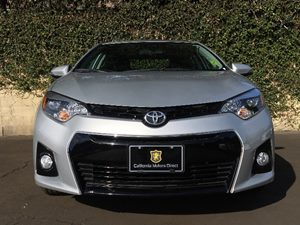 2015 Toyota Corolla S Plus  Classic Silver Metallic All advertised prices exclude government fe