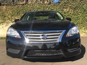 2015 Nissan Sentra S Carfax 1-Owner  Super Black 4 We are not responsible for typographical e