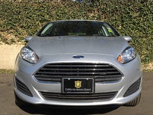 2016 Ford Fiesta SE  Ingot Silver Metallic  We are not responsible for typographical errors Al