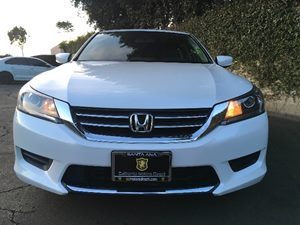2015 Honda Accord Sedan LX Carfax 1-Owner  White Orchid Pearl  We are not responsible for typo