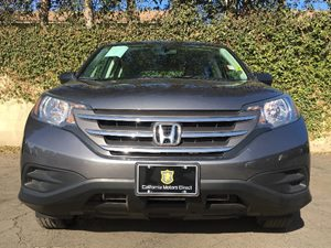 2014 Honda CR-V LX Carfax 1-Owner - No AccidentsDamage Reported  Gray  We are not responsible