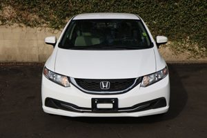 2015 Honda Civic Sedan LX Carfax 1-Owner  Taffeta White          16398 Per Month - On Approv