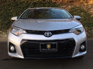 2015 Toyota Corolla S Plus Carfax 1-Owner - No AccidentsDamage Reported  Classic Silver Metall