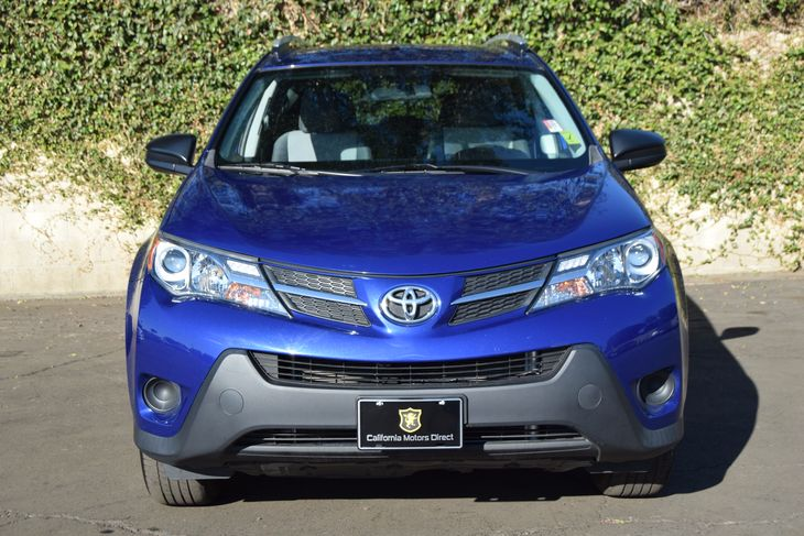 2014 Toyota RAV4 LE  Blue All advertised prices exclude government fees and taxes any finance