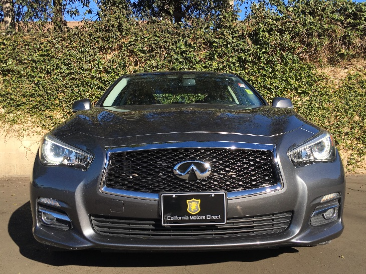 2014 INFINITI Q50 Premium  Gray All advertised prices exclude government fees and taxes any fi