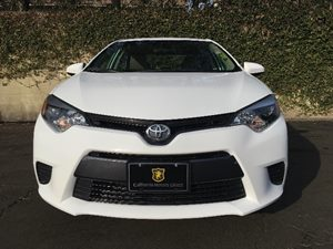 2015 Toyota Corolla LE Carfax 1-Owner - No AccidentsDamage Reported  Super White  We are not