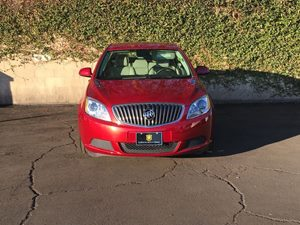 2016 Buick Verano Base Carfax 1-Owner - No AccidentsDamage Reported  Crystal Red Tintcoat 17
