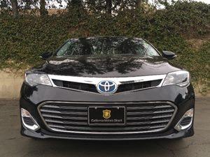 2015 Toyota Avalon Hybrid XLE Premium Carfax 1-Owner - No AccidentsDamage Reported  Attitude B