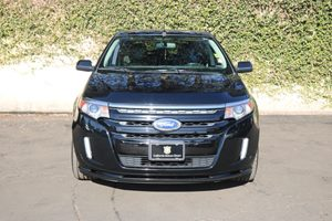 2012 Ford Edge Sport Carfax Report - No AccidentsDamage Reported  Black          23543 Per