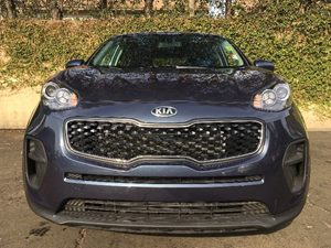 2017 Kia Sportage LX  Pacific Blue  All advertised prices exclude government fees and taxes an