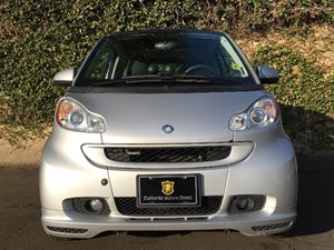 2009 smart fortwo BRABUS  Silver Metallic  We are not responsible for typographical errors All