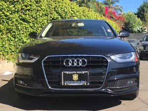 2014 Audi A4 20T Premium Plus Carfax 1-Owner - No AccidentsDamage Reported  Black  We are no