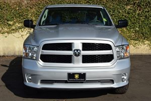 2015 Ram 1500 Express Carfax 1-Owner  Bright Silver Metallic Clearcoat  We are not responsible