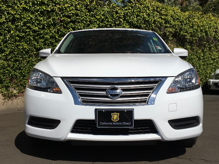 2015 Nissan Sentra S  White All advertised prices exclude government fees and taxes any financ