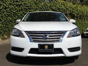 2015 Nissan Sentra S  White  We are not responsible for typographical errors All prices listed