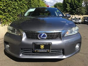 2012 Lexus CT 200h Base  Nebula Gray Pearl  We are not responsible for typographical errors Al