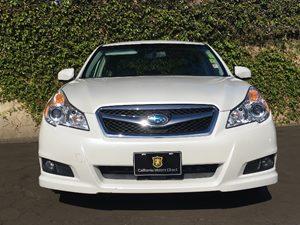 2012 Subaru Legacy 25i Premium Carfax Report - No AccidentsDamage Reported  Satin White Pearl