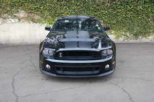 2014 Ford Mustang SHELBY GT 500  Carfax Report  Black  We are not responsible for typographica