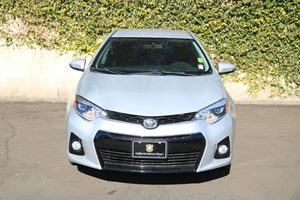 2015 Toyota Corolla S Carfax 1-Owner - No AccidentsDamage Reported  Classic Silver Metallic