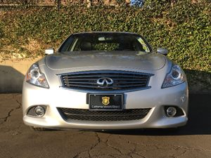 2013 INFINITI G37 Sedan Journey Carfax 1-Owner  Silver  We are not responsible for typographic
