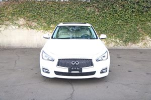 2014 INFINITI Q50 hybrid Premium  Moonlight White 28740 Per Month - On Approved Credit  See