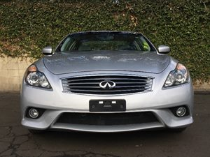 2014 INFINITI Q60 Coupe Sport Carfax 1-Owner  Silver  We are not responsible for typographical