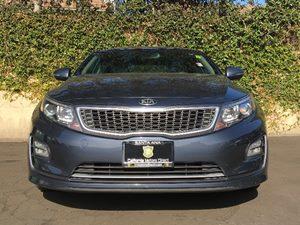 2014 Kia Optima Hybrid EX Carfax 1-Owner  Smokey Blue Metallic  We are not responsible for typ